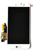 Дисплей (LCD) HTC One M10 с сенсором белый