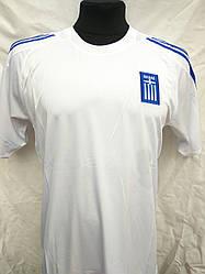Футбольная форма взрослая Греция белая
