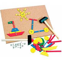 Bino Обучающая игрушка Bino Игра с молоточком (82188)
