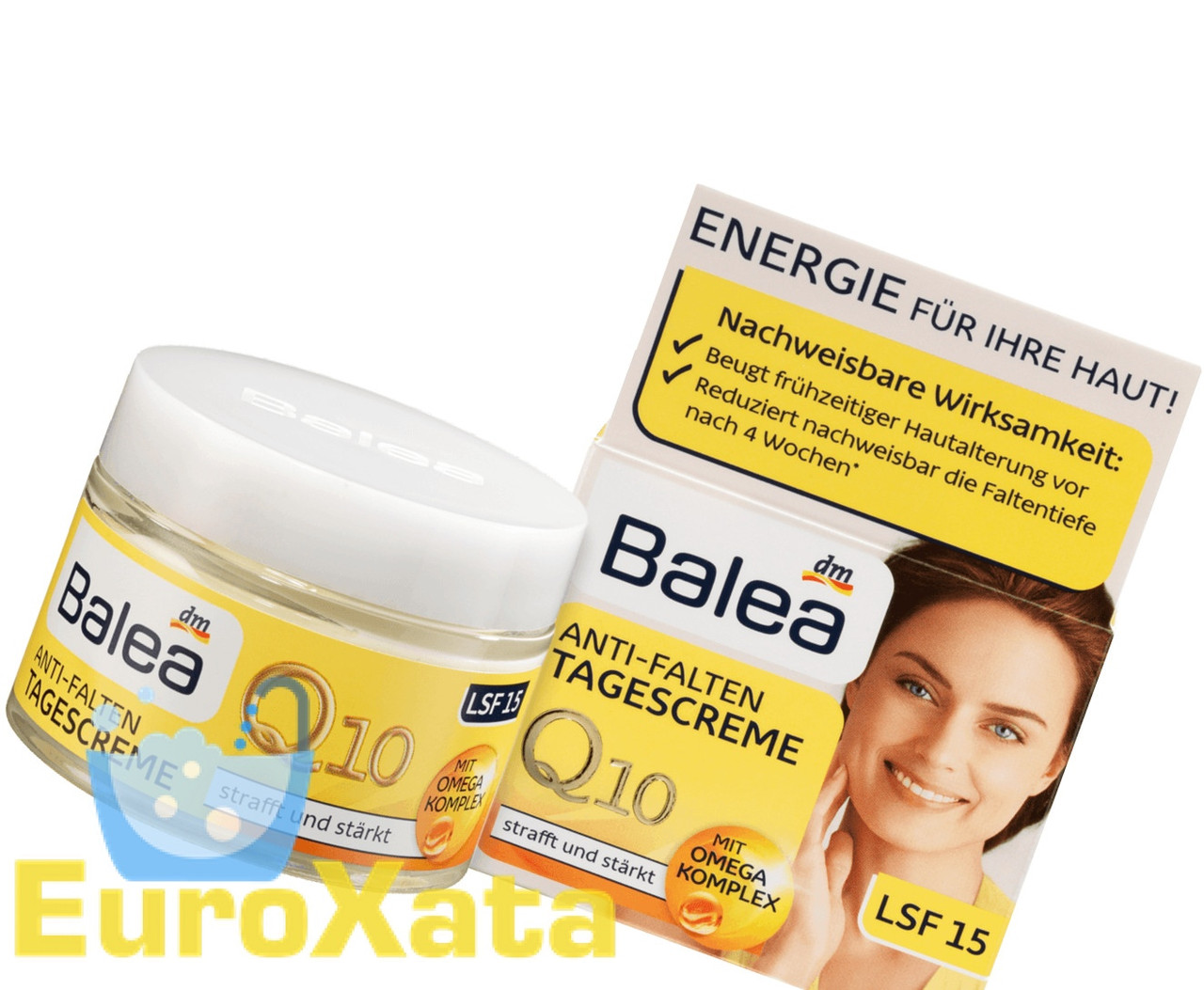 Крем для лица Balea Anti-Falten Q10 ДЕНЬ от морщин