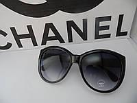 Солнцезащитные очки Chanel (Шанель), цвет черный