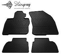 Stingray Модельные автоковрики в салон HONDA Civic Hatchback 2006- Комплект из 4-х ковриков (Черный)