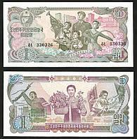 Корея Северная/Korea-North 1 Won 1978 Pick 18b UNC