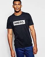 Мужская Футболка Nike F.C. черного цвета