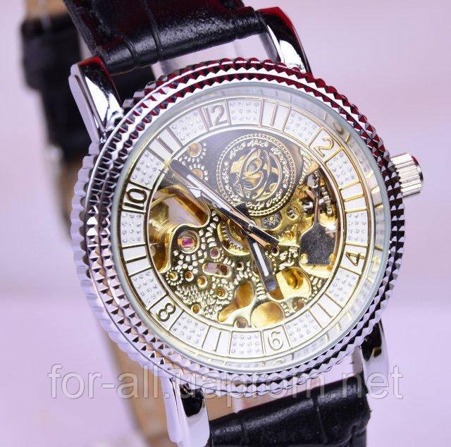 Мужские механические часы скелетон Слава С6460 купить в Интернет ... 1a084dd3067