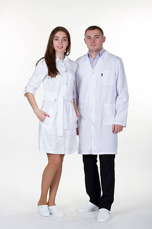 Мужской медицинский халат Руслан - Чоловічий медичний халат Руслан, фото 2