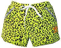 Шорты женские леопард love adidas (лето)