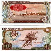 Корея Северная Korea Noth 10 Won 1978 P20d UNC
