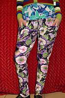 Цветные женские брюки