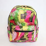 Яркий молодежный городской мини-рюкзак
