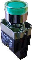 Кнопка с подсветкой зеленый XB2-BW3371 (АСКО)
