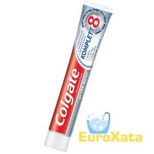 Зубная паста Colgate Komplett 8 Ultra Weiss