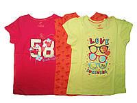 Футболка для девочки, ( 3 шт в упаковке), размеры 98/104, Lupilu, арт. 833466