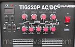 Аргонодугового зварювальний апарат W-MASTER TIG-220P AC\DC для зварювання алюмінію, фото 2