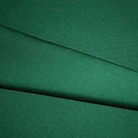 Ткань однотонная зеленая