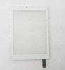 Оригинальный тачскрин / сенсор (сенсорное стекло) для Prestigio MultiPad 4 PMT7077 | PMP7079 белый самоклейка
