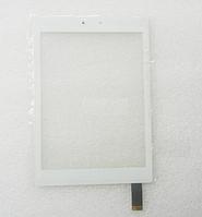 Оригинальный тачскрин / сенсор (сенсорное стекло) для Prestigio MultiPad 4 PMT7077   PMP7079 белый самоклейка