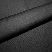 Ткань однотонная черный