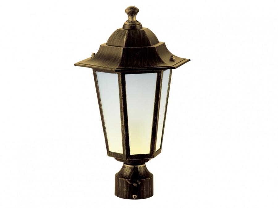 Садово-парковый светильник DeLux PALACE A03 черное золото