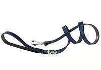 Кожаный поводок для собак, два цвета MODA G15/120