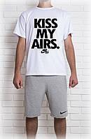 Мужская Футболка Nike Kiss My Airs белого цвета, фото 1