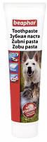 Паста зубная Beaphar для собак и кошек со вкусом печени, 100 г