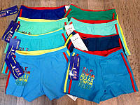 Плавки детские для мальчика синие зеленые голубые 8-12лет
