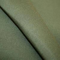 Ткань однотонная зелёная