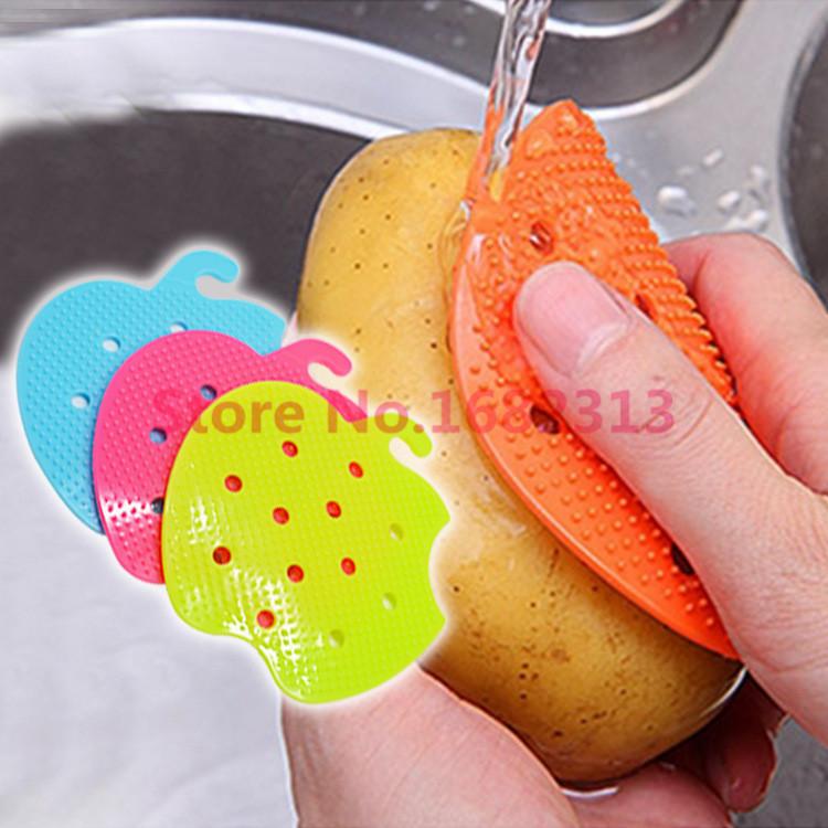 Многофункциональная щетка для мытья овощей и фруктов!