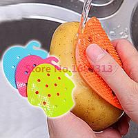 Многофункциональная щетка для мытья овощей и фруктов!, фото 1