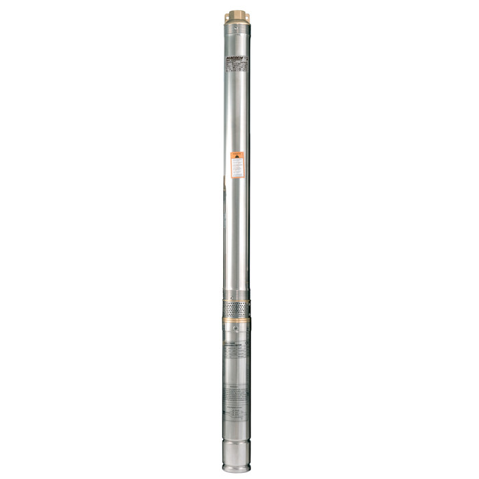 Скважинный насос Насосы+Оборудование 75QJD 130-0.75 + пульт управления