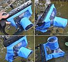 Водонепроницаемый аквабокс для зеркальных фотоаппаратов Bingo синий, фото 3