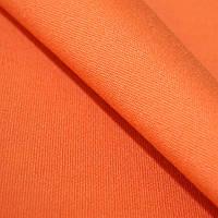 Ткань однотонная оранжевый