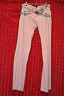 Розовые женские классические брюки