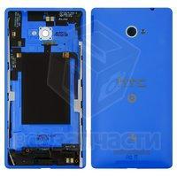 Задняя панель корпуса для мобильного телефона HTC C620e Windows Phone 8X, синяя