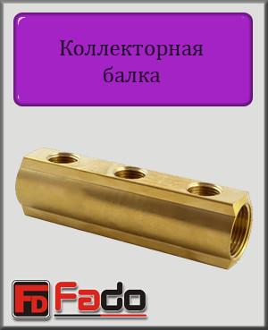 """Коллекторная балка Fado 1""""х1/2"""" на 7 выходов"""