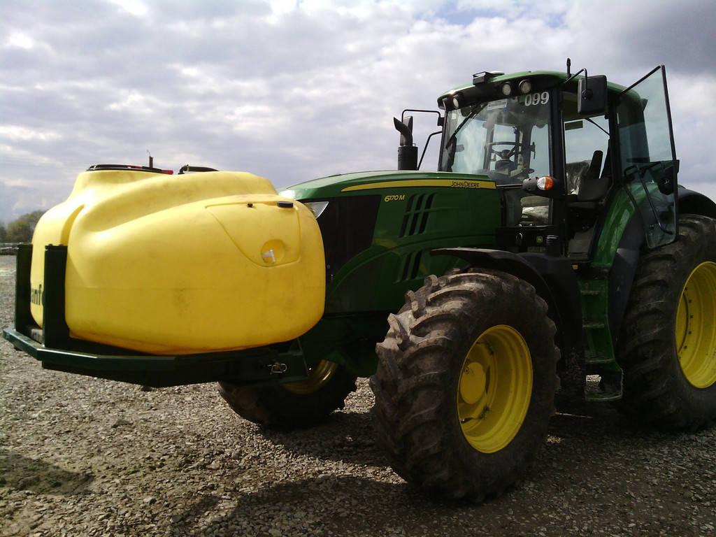 Установка Trimble Ez-pilot системы точного вождения на трактора John Deer 6170 M - 3 шт.