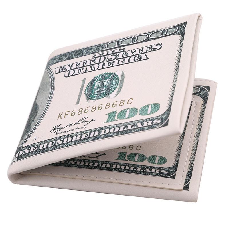 Кошелек в виде банкноты: 500 евро или 100 долларов!