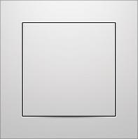 Выключатель одноклавишный Marshel IDEAL белый VS10-290
