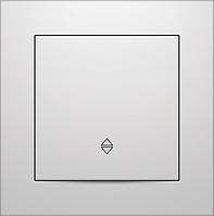 Выключатель одноклавишный на два направления Marshel IDEAL белый VS10-297