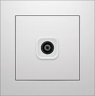 Розетка телевизионная Marshel IDEAL белая RTV-481