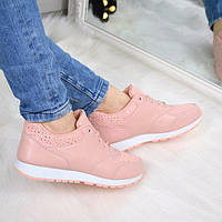 Кроссовки женские Flawor розовые , спортивная обувь