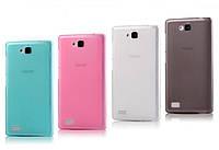 Силиконовый чехол для Huawei honor 3c