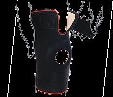 Бандаж на коленный сустав со спиральными ребрами жесткости