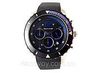 Часы мужские Alberto Kavalli в стиле Ferrari, черный с синим, встроен секундомер, фото 1