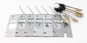 Сменные сувальды с ключами S.A.B. 230 long  (Италия)