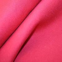 Ткань однотонная красный георгин