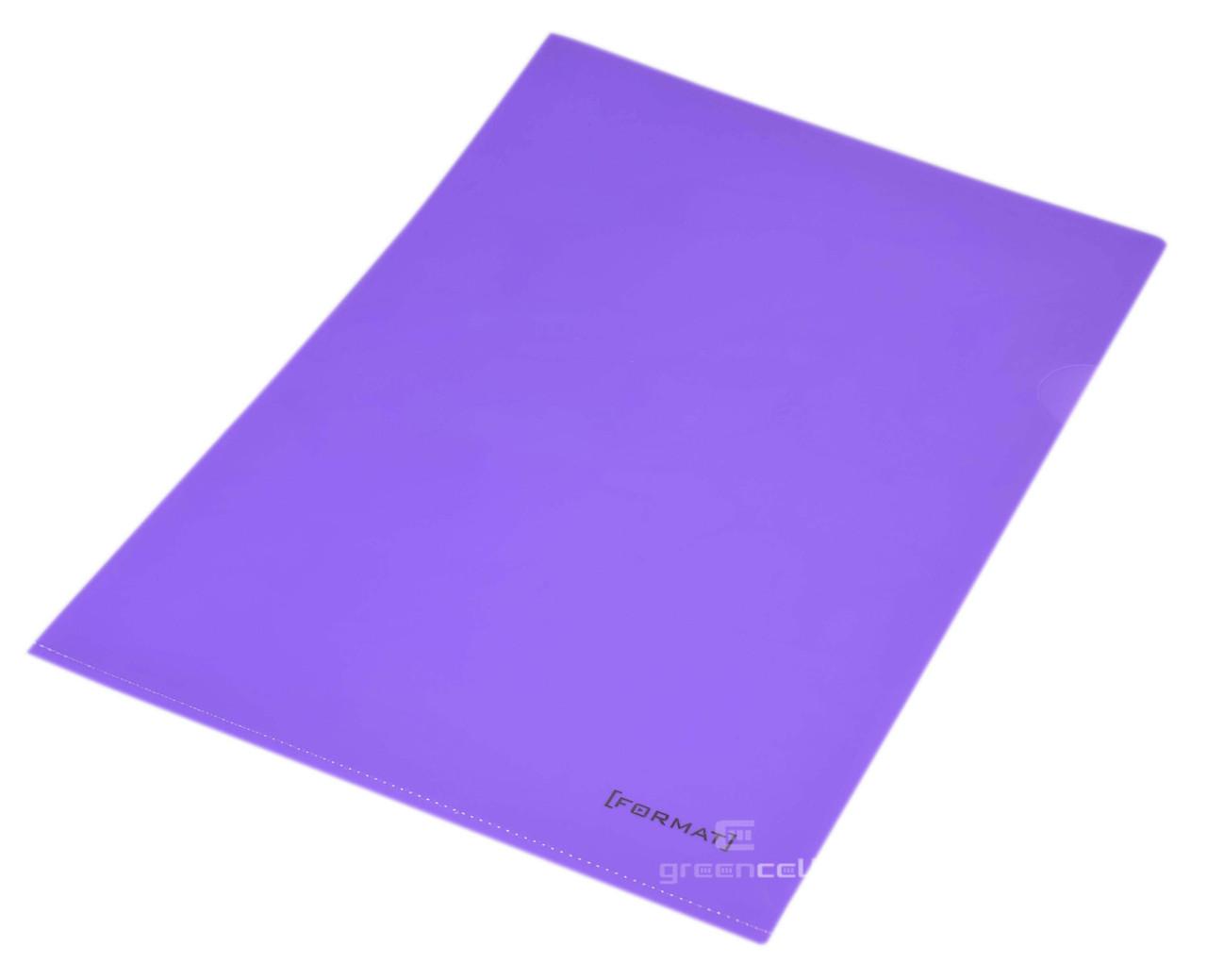 Папка уголок A4 Format