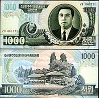 Korea North Северная Корея - 1000 Won 2006 UNC