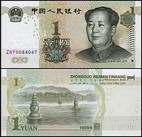 Китай / China 1 Yuan 1999 Pick 895 UNC